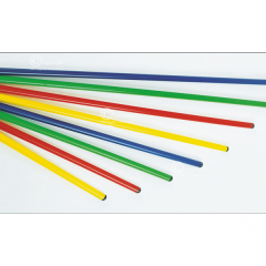 Gimnastikos lazdos, 10 vnt 80-180 cm
