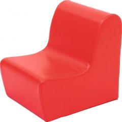 Minkštas fotelis, žalias