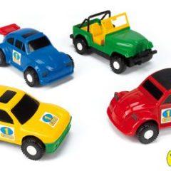10 automobilių rinkinys