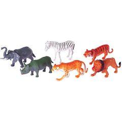 IŠPARDUOTA-Safari gyvūnai, plastikiniai