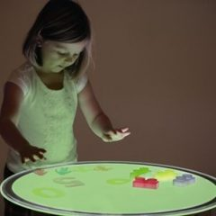 Apvali keičianti spalvas Šviesos lenta LED (70 cm)