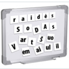 Magnetukai – lietuviškos raidės
