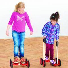 Balansinis vežimėlis be rankenų