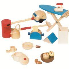 IŠPARDUOTA-Virtuvės daiktai lėlių nameliui