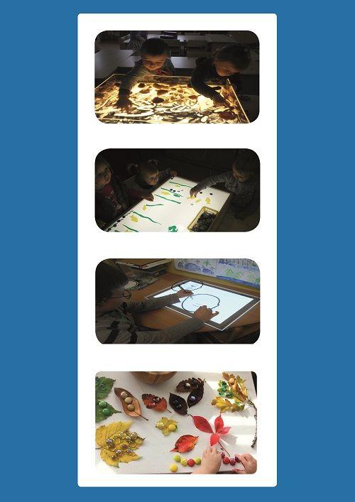 """Idėjų knygelė """"Šviesos stalų naudojimo gidas"""""""