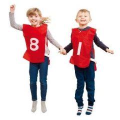 Marškinėlių rinkinys su numeriais