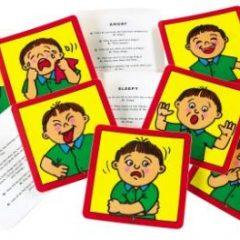 IŠPARDUOTA-Emocijų kortelės