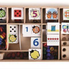 """Stalo žaidimas """"Boružėlė moko skaičiuoti"""""""