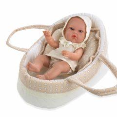 Arias kūdikėlis su nešykle, rusva