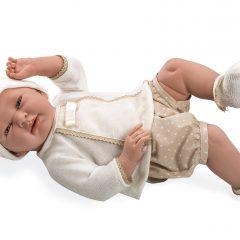 IŠPARDUOTA-Kūdikėlis su trumpomis rusvomis kelnaitėmis, 52 cm
