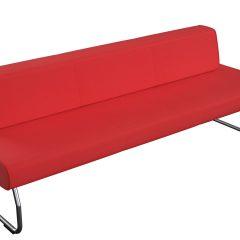 Sofa, raudona