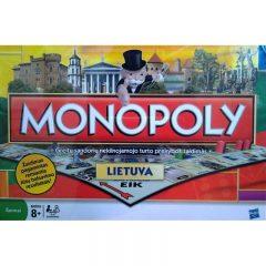 """Išparduota – Hasbro Žaidimas """"Monopolis: Lietuva"""", LT"""