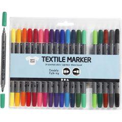 Markerių komplektas tekstilei