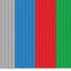 Plastiko gijų rinkinys 24 – įvairių spalvų