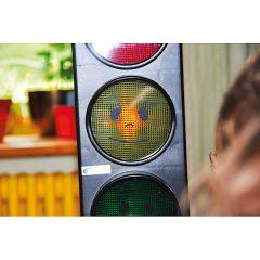 Triukšmo lygio valdymo sistema –  šviesoforas