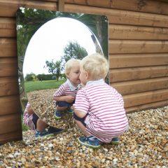 Lauko ir vidaus veidrodinis tyrinėjimas
