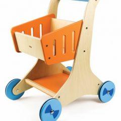 Medinis pirkinių vežimėlis