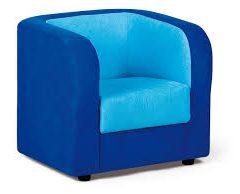 Fotelis – mėlynas