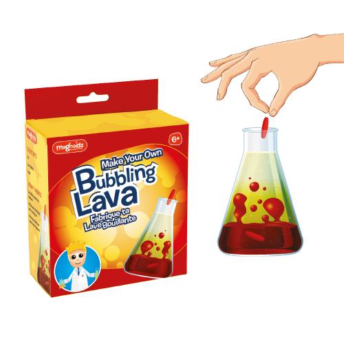 Burbuliuojančios lavos eksperimentas