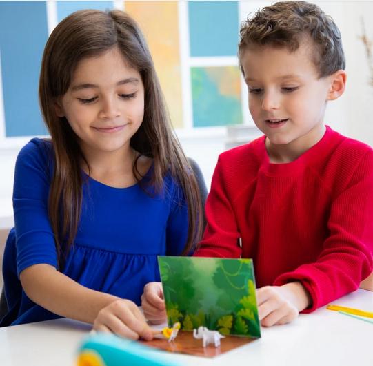 Mini 3 d spausdintuvas vaikams 4+