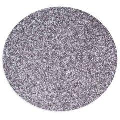 Apvalus kilimas – pilkas