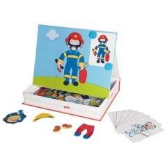 Magnetinis žaidimas – aprenk berniuką
