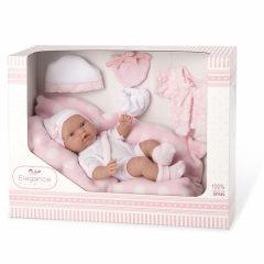 Arias kūdikėlis su nešykle, rožine