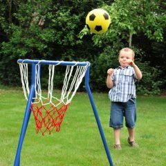 Pastatomas krepšinio lankas