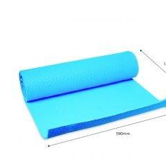 Mėlynas gimnastikos kilimėlis