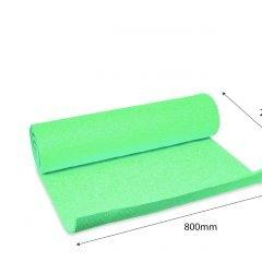 Platus gimnastikos kilimėlis, žalios spalvos