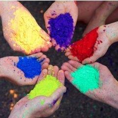 Spalvoto smėlio rinkinys, 14 spalvų dėžutėse