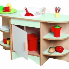 Virtuvėlė su kriaukle
